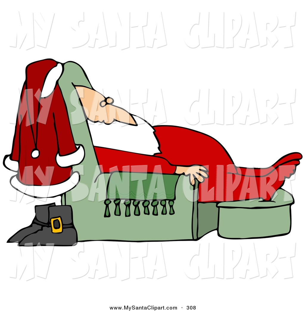 Sleeping Santa.