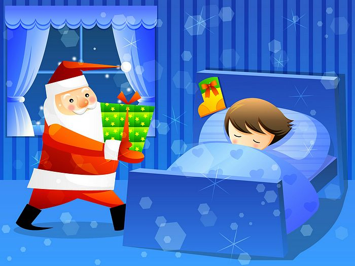 Showing post & media for Cartoon santa claus sleeping.