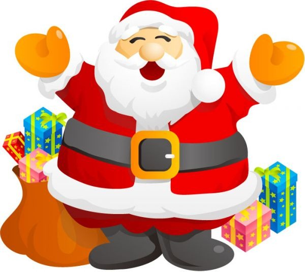 Gifts Santa Claus.