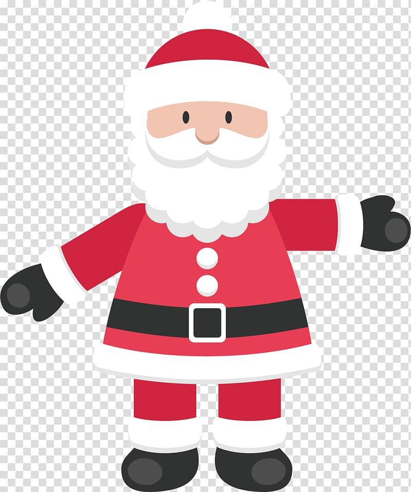 Santa Claus Gift Christmas, Santa Claus transparent.
