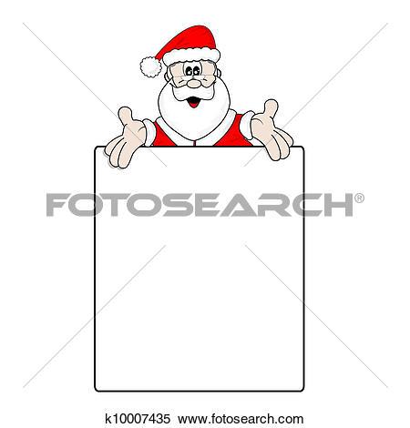 Clipart of Christmas wish list k10007435.