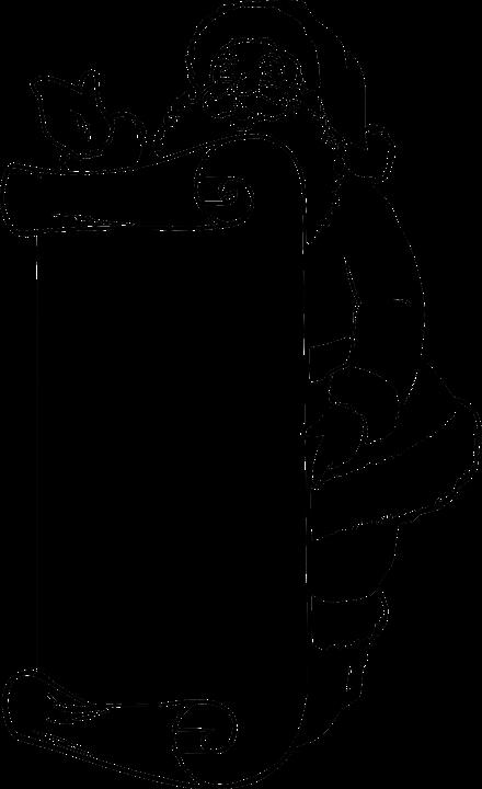 Free vector graphic: Santa, Claus, Scroll, List, Blank.