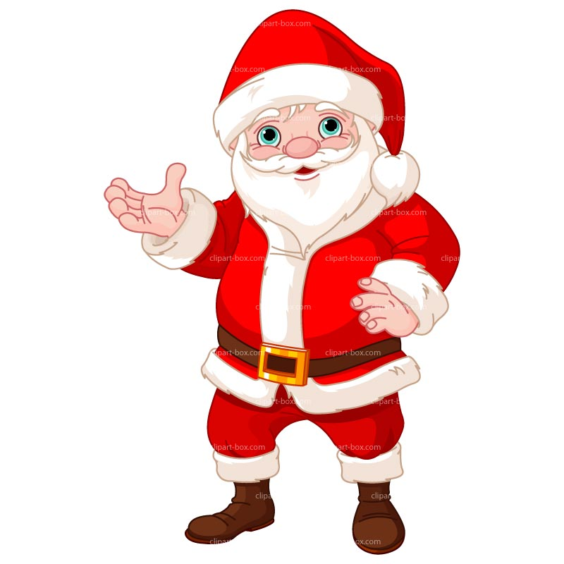 Santa claus clipart animated.