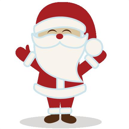 14+ Cute Santa Clipart.