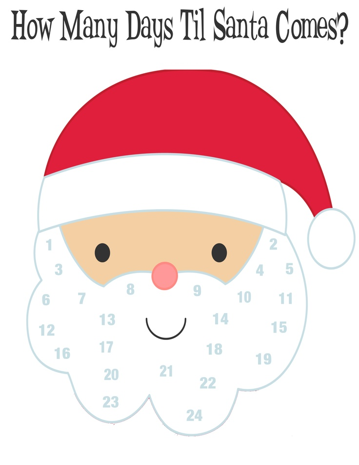 20 Best images about Kids Christmas Countdown Activities on.