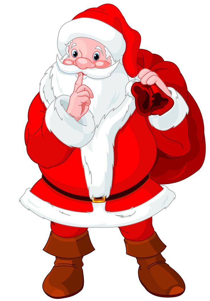 Shhh Secret Santa Clipart.