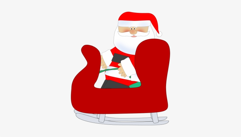Santa Clipart Chair.