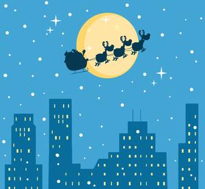 Free Santa Clipart Image.