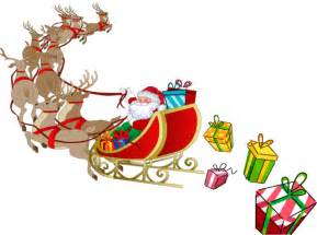 Similiar Santa And His Sleigh Clip Art Keywords.