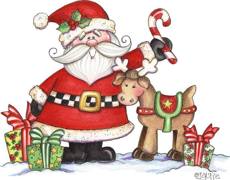 Santa Claus Clipart Elegant 7 best Laurie Furnell Santa.