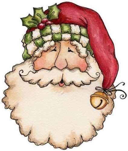 Old Fashioned Santa Christmas Craft Ideas Pinterest.