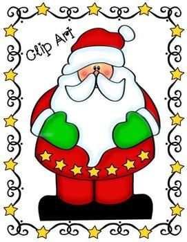 233 best Santa Claus Clipart images on Pinterest Christmas.