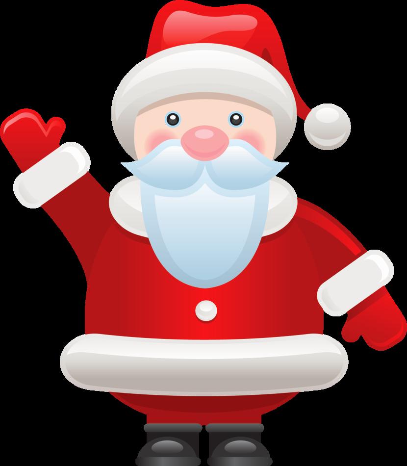 Santa Clip Art.