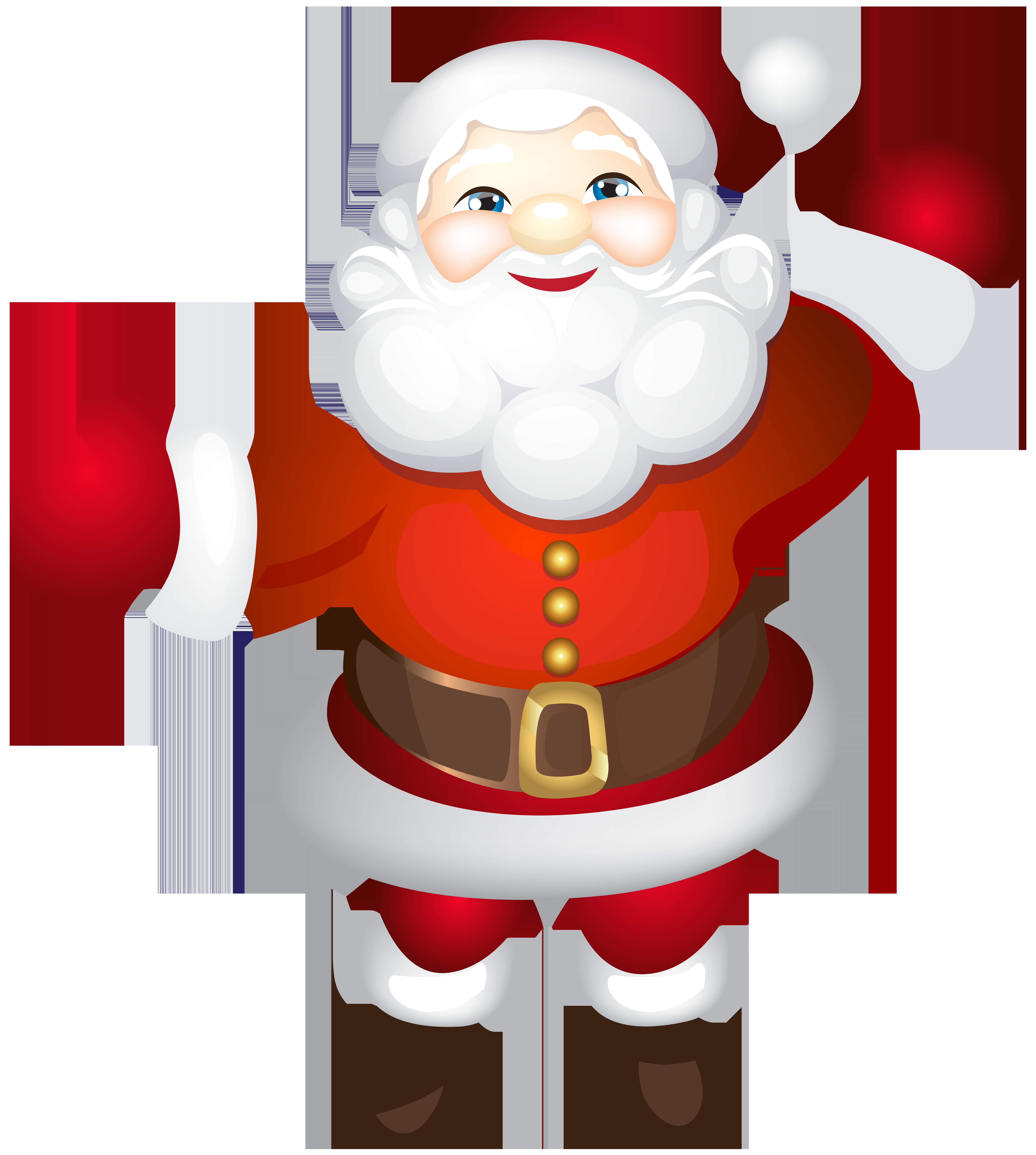Santa Claus Father Christmas Clip art.