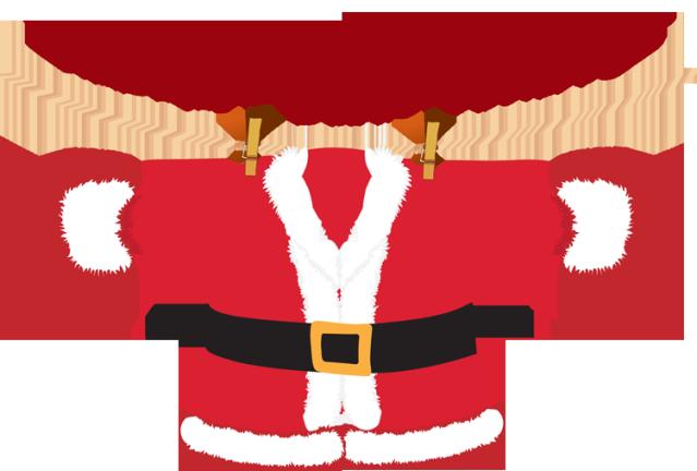 Clipart Santa Coat.