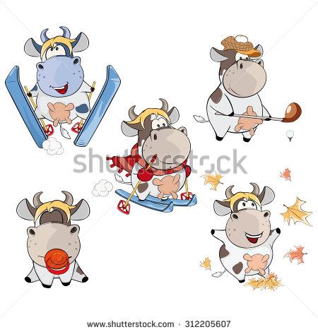Showing post & media for Santa cow cartoon.