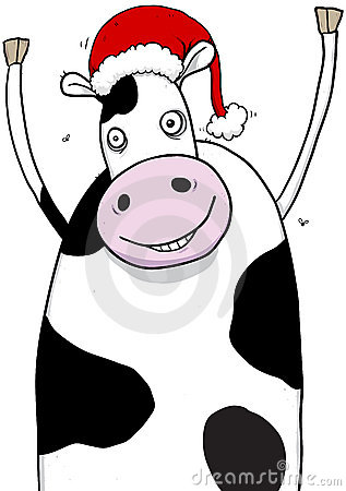 Showing post & media for Cartoon christmas cow.