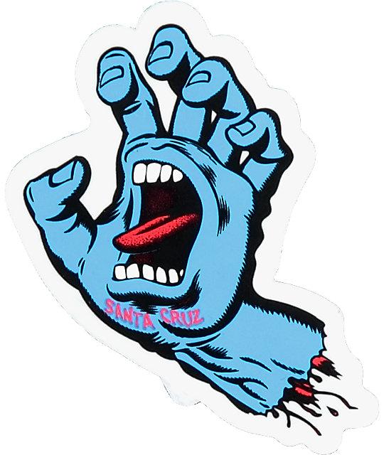 Santa Cruz Screaming Hand 3\