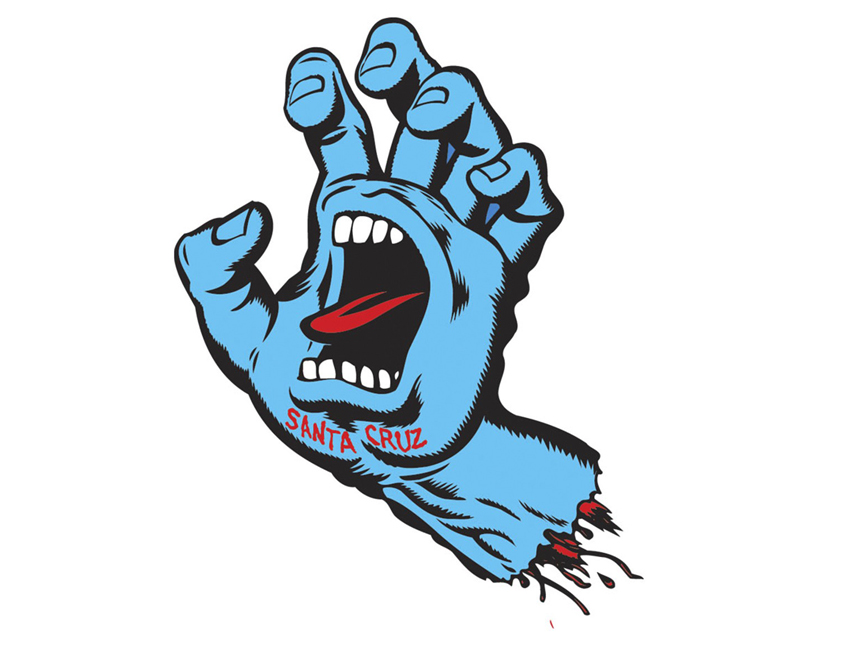 Jim Phillips\' Screaming Hand Transforms Skateboard Culture.