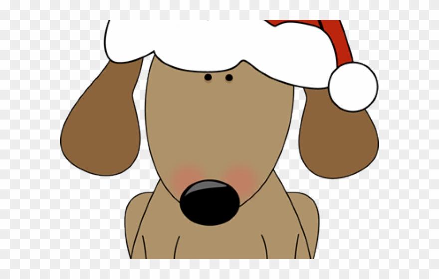 Santa Clipart Dog.