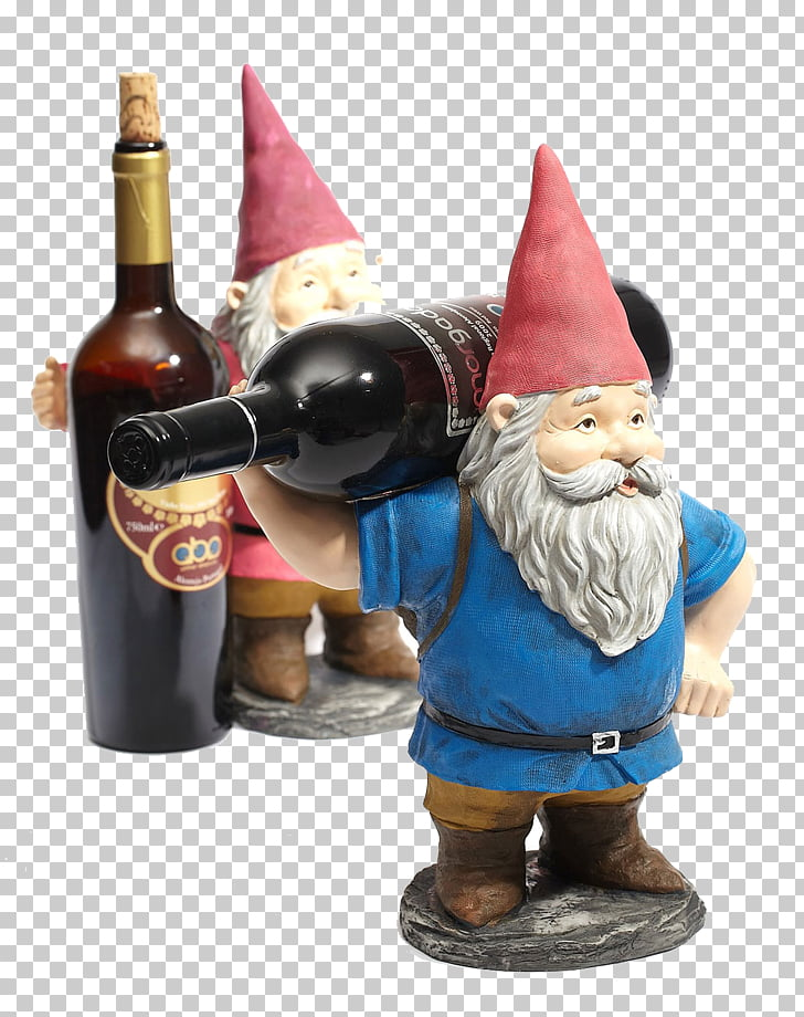 Red Wine Santa Claus Wine rack, Santa Claus wine rack PNG.
