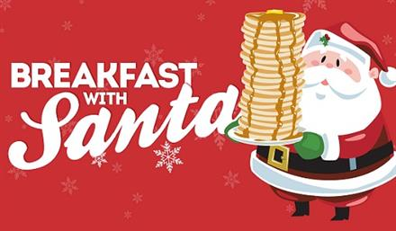 9 Breakfast with Santa spots your kids will Love!.