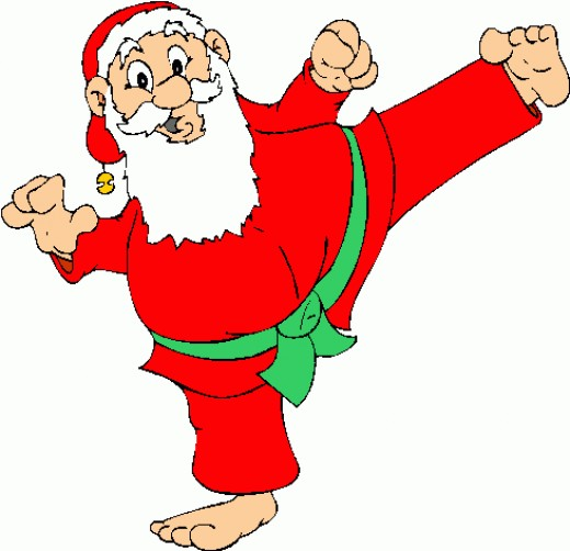 Free Santa Exercising Cliparts, Download Free Clip Art, Free.