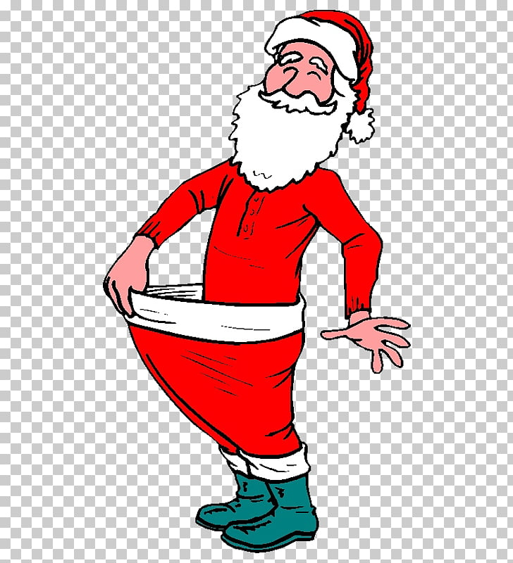 Santa Claus Weight loss Exercise Weight training , wc PNG.