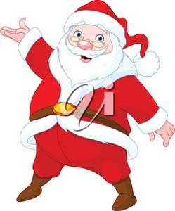 Image of a Happy Santa Claus.