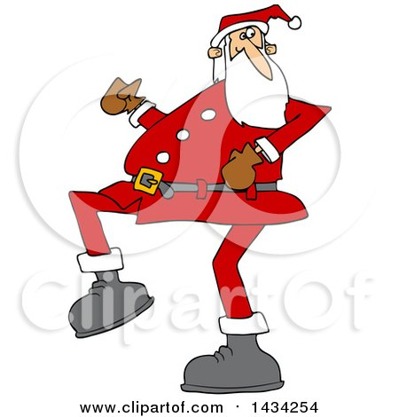 Royalty Free Stock Illustrations of Santa Claus by Dennis Cox Page 1.