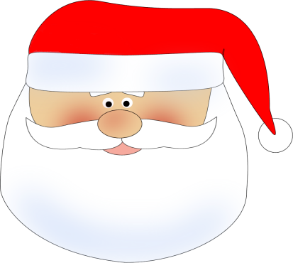 Free Santa Face, Download Free Clip Art, Free Clip Art on.
