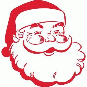 Santa face.