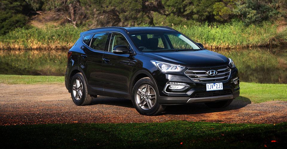 2017 Hyundai Santa Fe Active diesel review.