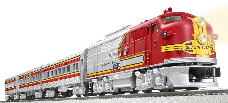 Bachmann HO Santa Fe Flyer Train Set, SF (BAC00647).