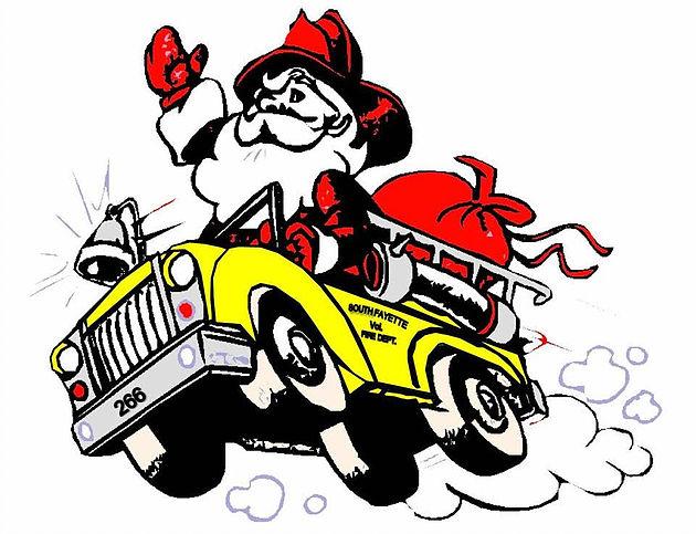 Santa Fire Truck Run 2016 is scheduled for December 17th.