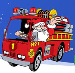 Madison Hose Company No. 1 Christmas Santa Fundraiser.