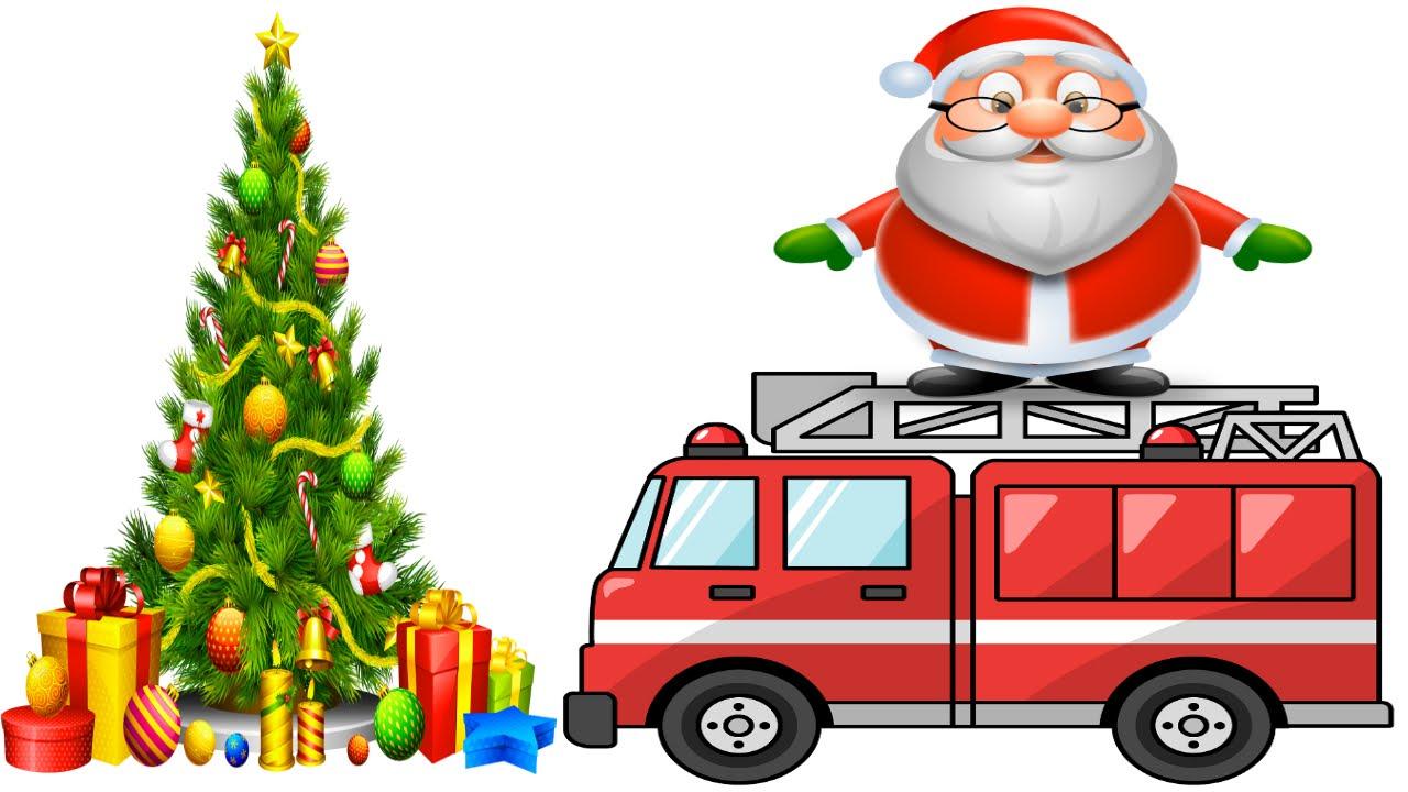 TCW Vlog #5 Santa Rides a Firetruck Tree Lighting!.