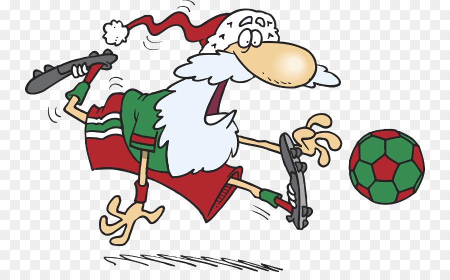 Santa Claus Cartoon clipart.