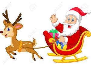 Santa Dancing Free Clipart.
