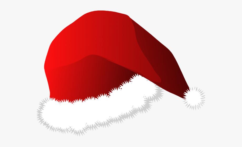 Santa Hat Clipart Cropped.