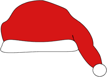 Santa Hat Clip Art.