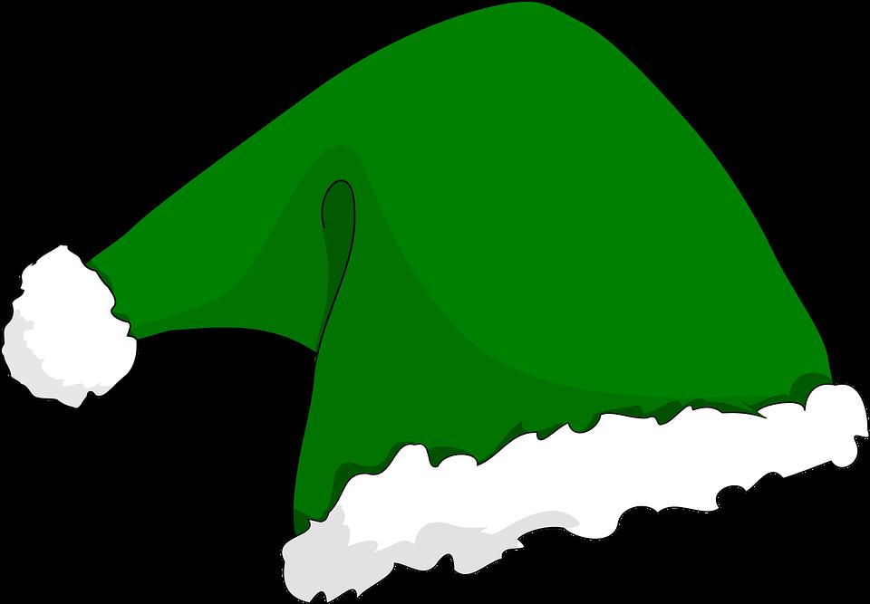 Free vector graphic: Hat, Elf, Holiday, Xmas, Santa.