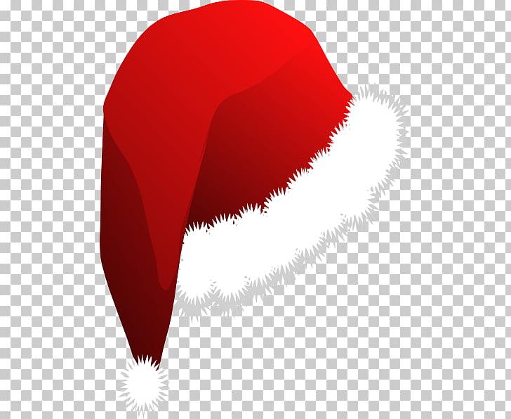 Santa Claus Santa suit Hat , Christmas Hat PNG clipart.