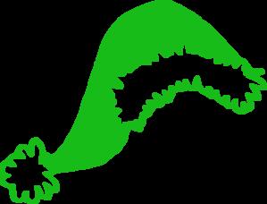 Green Santa Hat Clip Art at Clker.com.