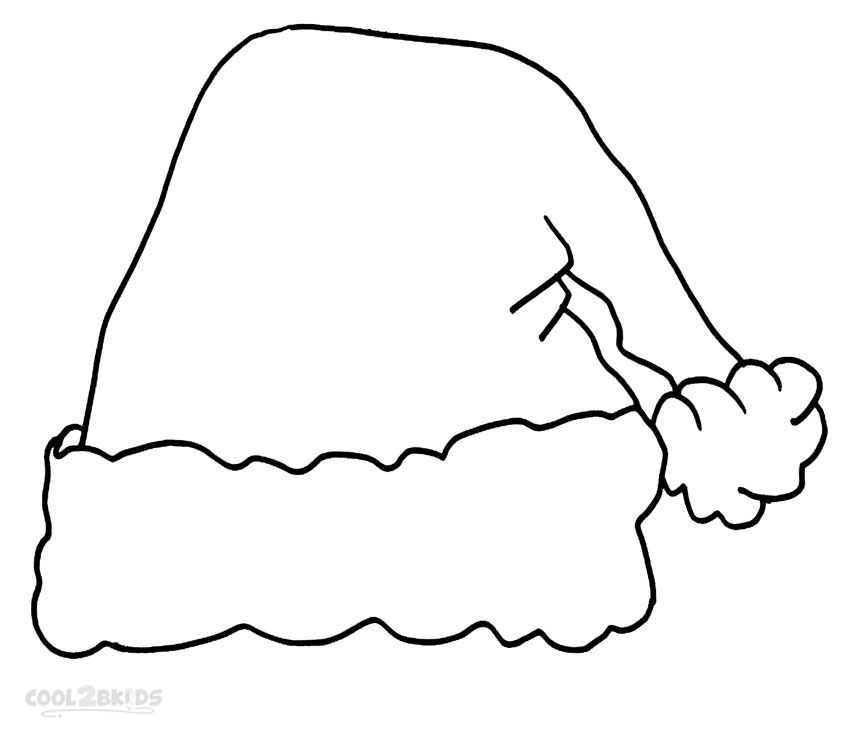 Free Santa Hat Clipart Outline Png, Download Free Clip Art.