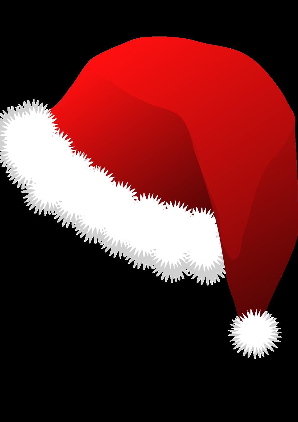 Santa hat clipart transparent background 2 » Clipart Station.