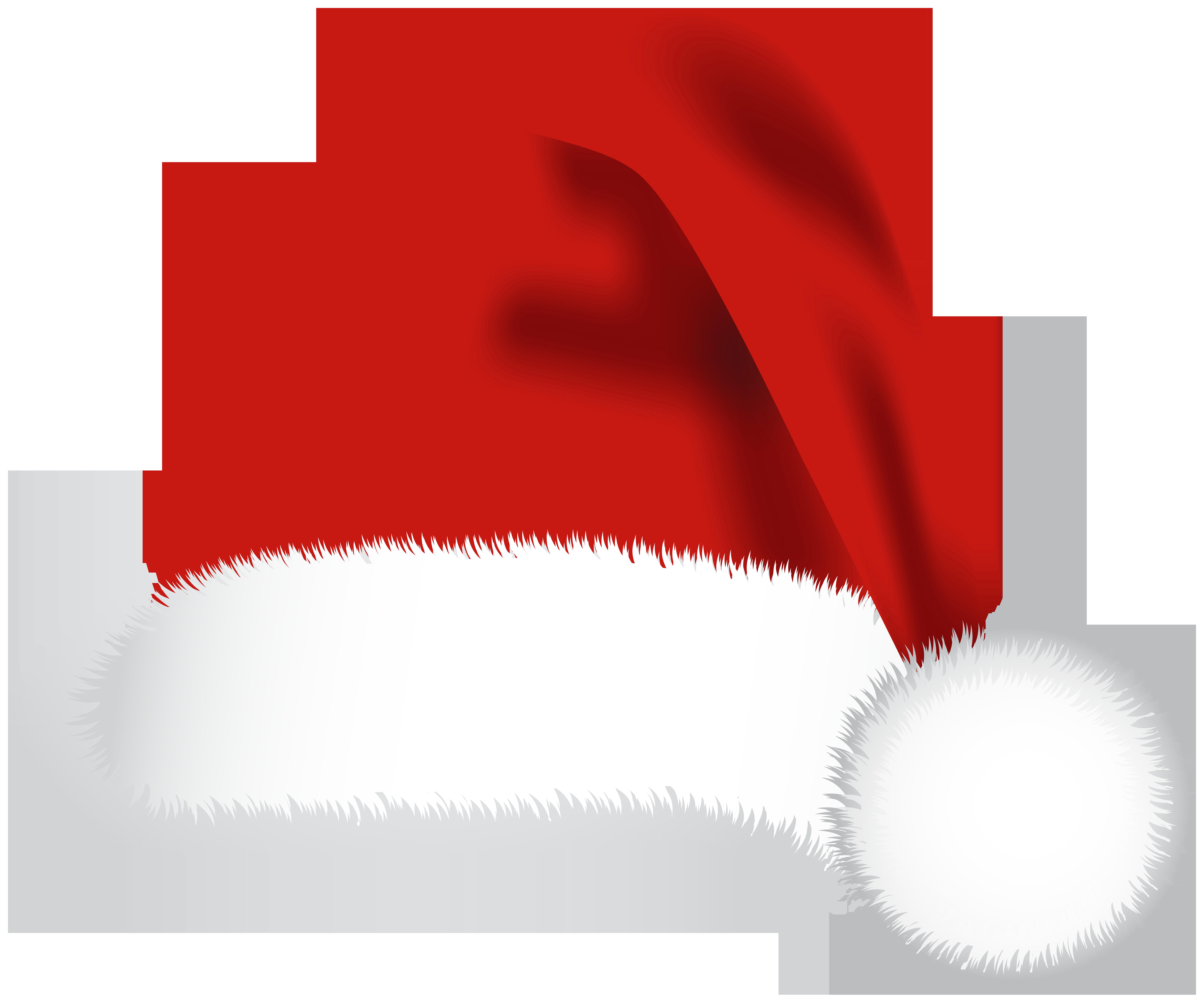 Santa Hat PNG Clip Art Image.