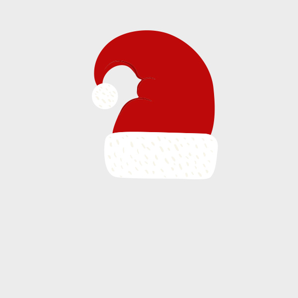 Free Vector of the Day #709: Santa Hat Vector.