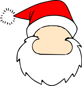 Blank Santa Face Clip Art at Clker.com.