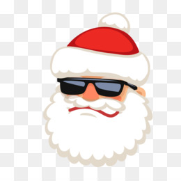 Santa Claus Head PNG.